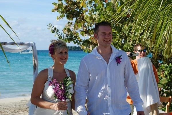 Photo from our wedding at Couples Negril.