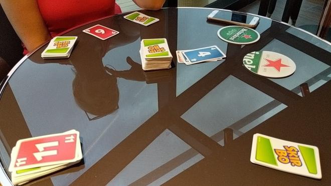 Playing cards Skip-Bo MSC Seaside