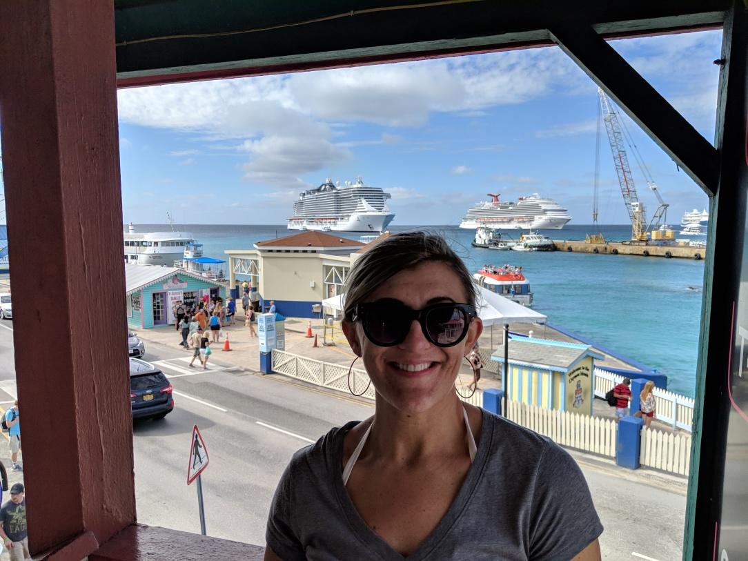 George Town stop on MSC Seaside