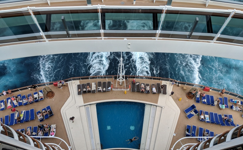MSC Seaside Review Level 7 Pool
